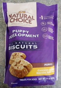 Puppy biscuits