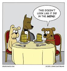 canned dog food comic